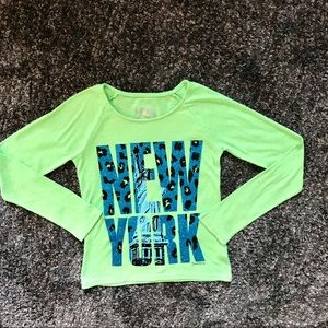 Justice Girl's Long sleeve T-shirt - size 8